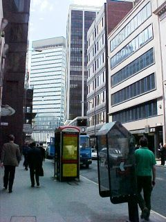 The Fenchurch Street 'canyon' (photo Lachlan Cranswick)